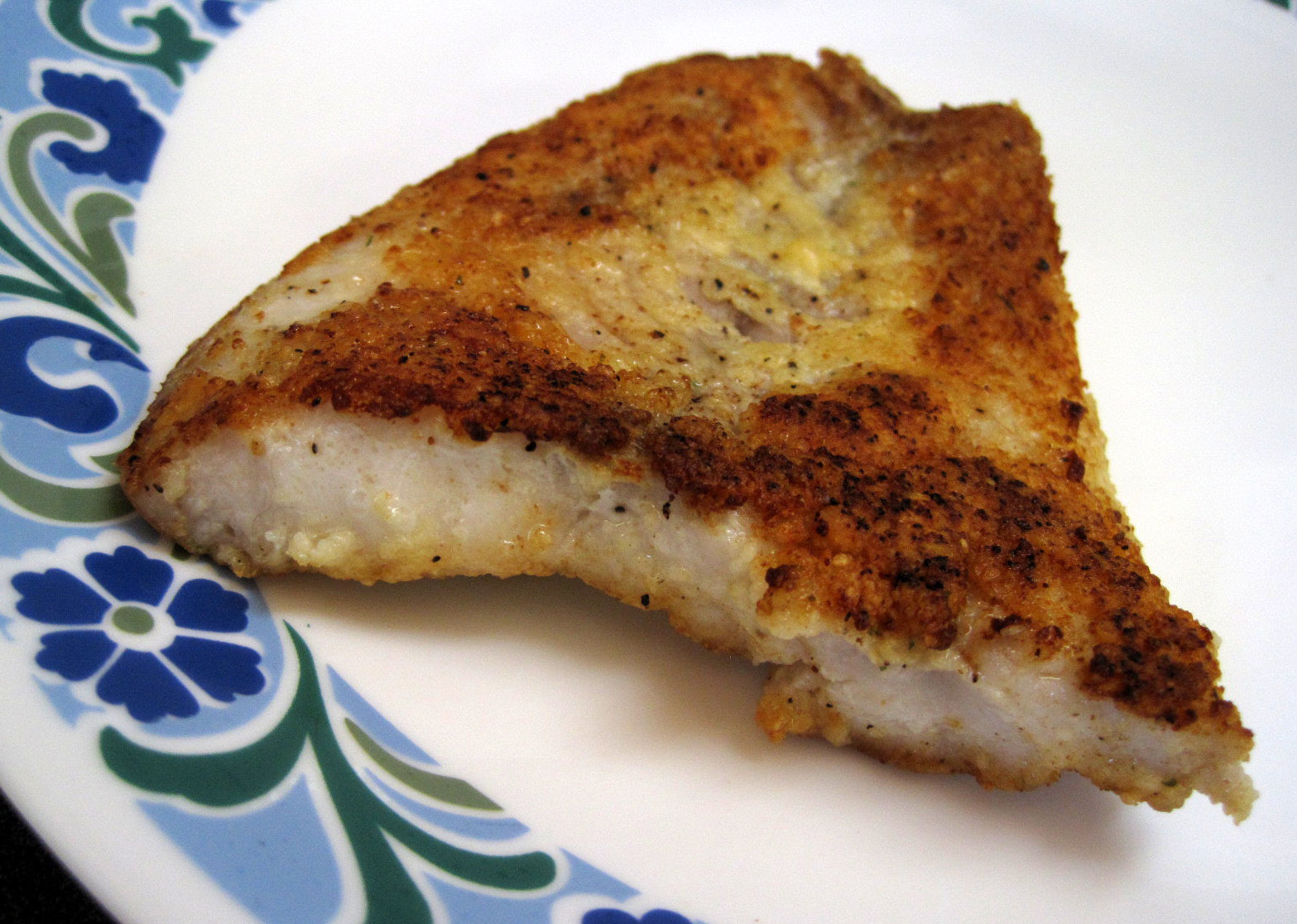 escape from obesity low carb crispy pan fried fish