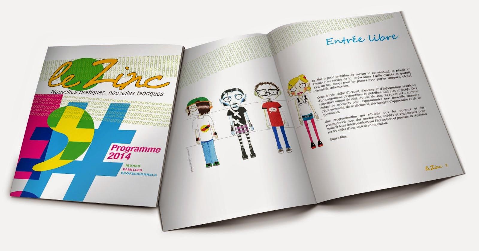 Zinc Brochure mock up