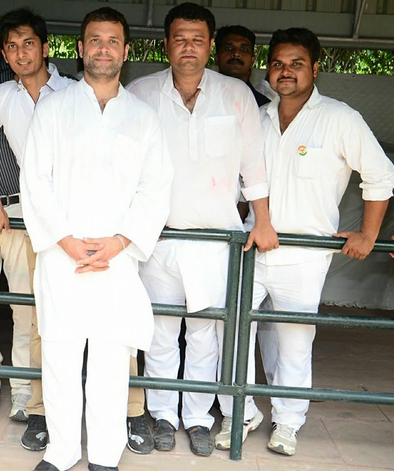 With Rahul Gandhi Ji
