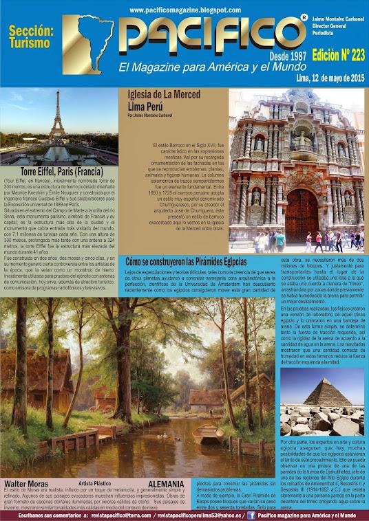 Revista Pacífico Nº 223 Turismo