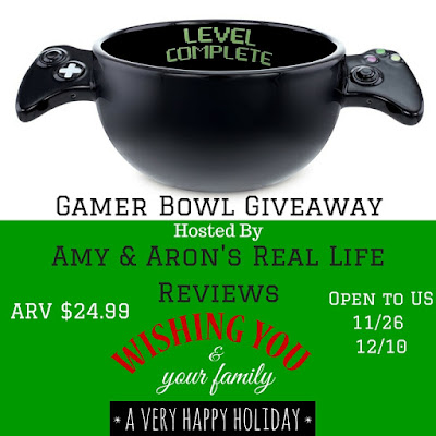 Enter the Gamer Bowl Giveaway. Ends 12/10