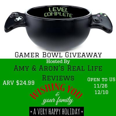 Enter the Gamer Bowl Giveaway. Ends 12/10