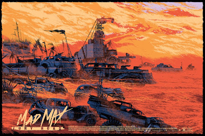 Mad Max: Fury Road Screen Print by Kilian Eng