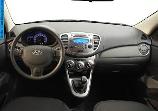 Hyundai i10 car dashboard - صور تابلوه سيارة هيونداى i10