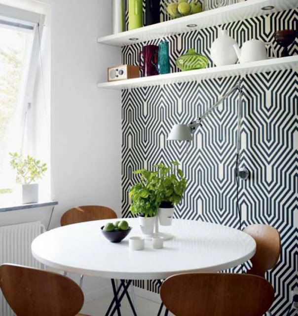 decorar sala de jantar pequena