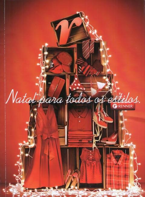 Arvore de Natal com Caixas de Feira