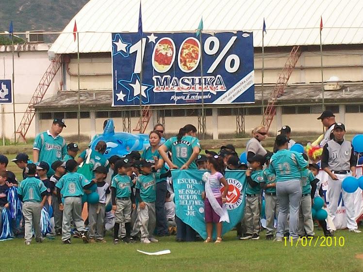Inauguración del Campeonato 2010 - 2011 Liga Preparatoria Monseñor Manuel Monsalve