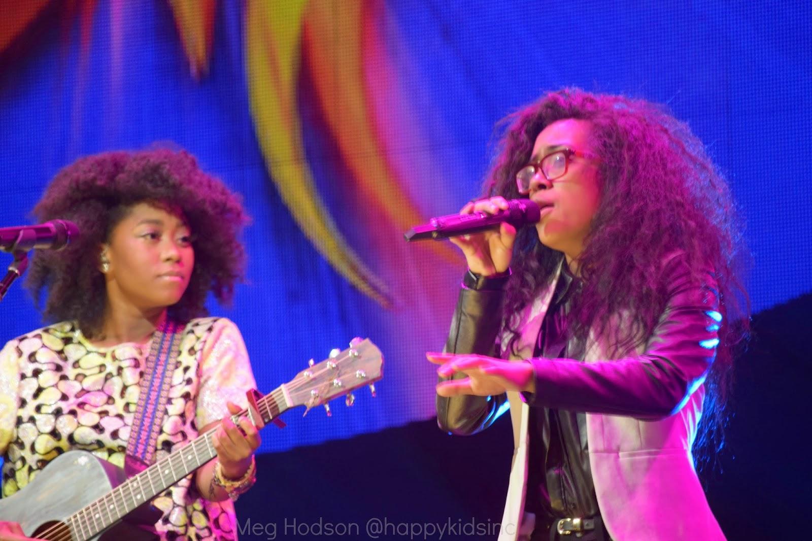 American Idol Tour IdolTweethearts Majesty Rose Malaya Watson