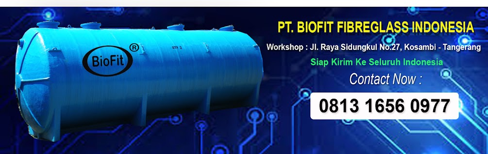 Septic Tank - Septic Tank Biotech - Iapak Biofilter BioFit
