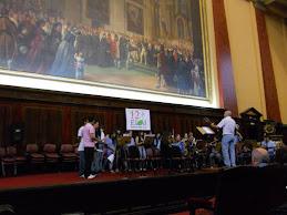 Coro y Banda Esc de Comercio 12 - Facultad de Derecho