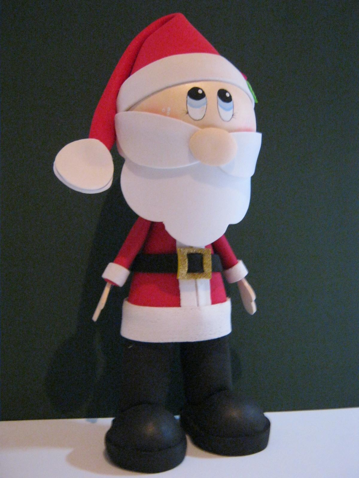 Papá Noel, Santa Claus, San Nicolás,Fofucho Artfoamicol
