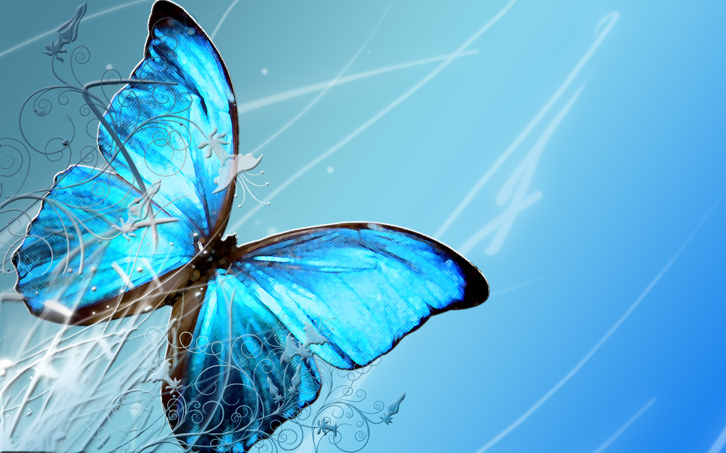butterfly wallpapers flying - photo #19