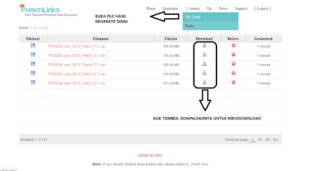 Cara Download dari uploaded.to gratis tanpa Premium Account
