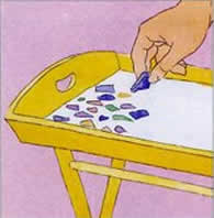 Como fazer mosaico passo a passo