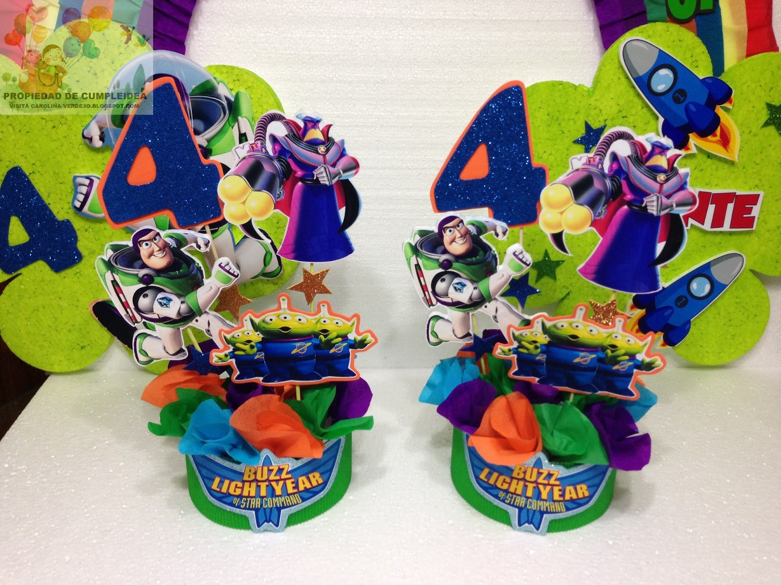 DECORACIONES INFANTILES: buzz lightyear