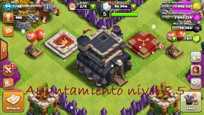 Ayuntamiento nivel 8.5