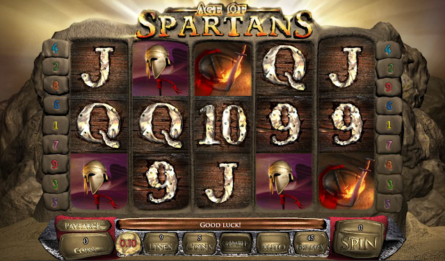 Age of Spartans Video Slot Game