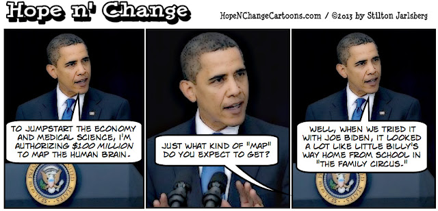 obama, obama jokes, brain initiative, joe biden, stilton jarlsberg, hope n' change, hope and change, conservative