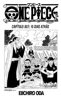 One Piece 807 Mangá Português leitura online