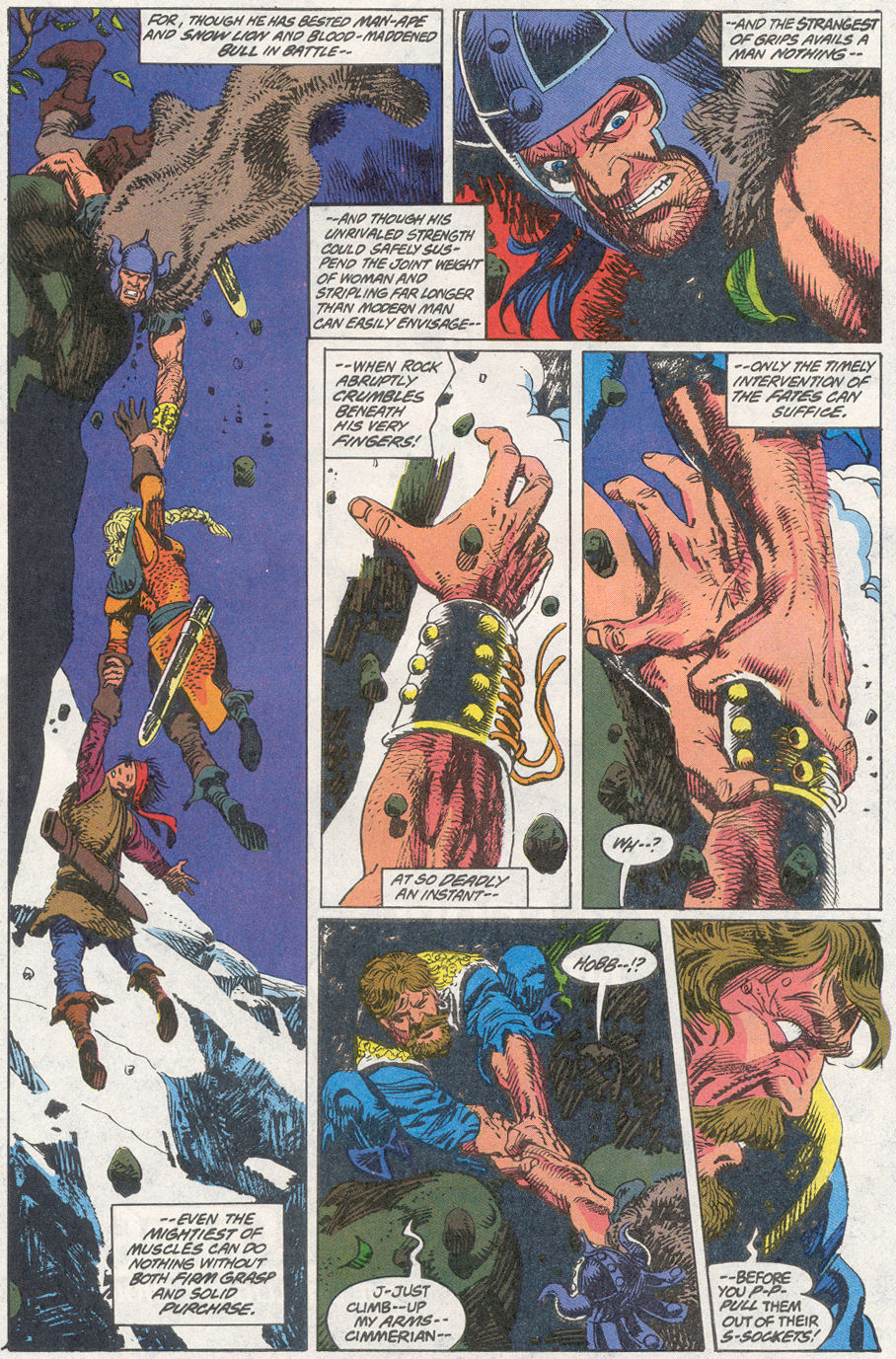 Conan the Barbarian (1970) Issue #260 #272 - English 7