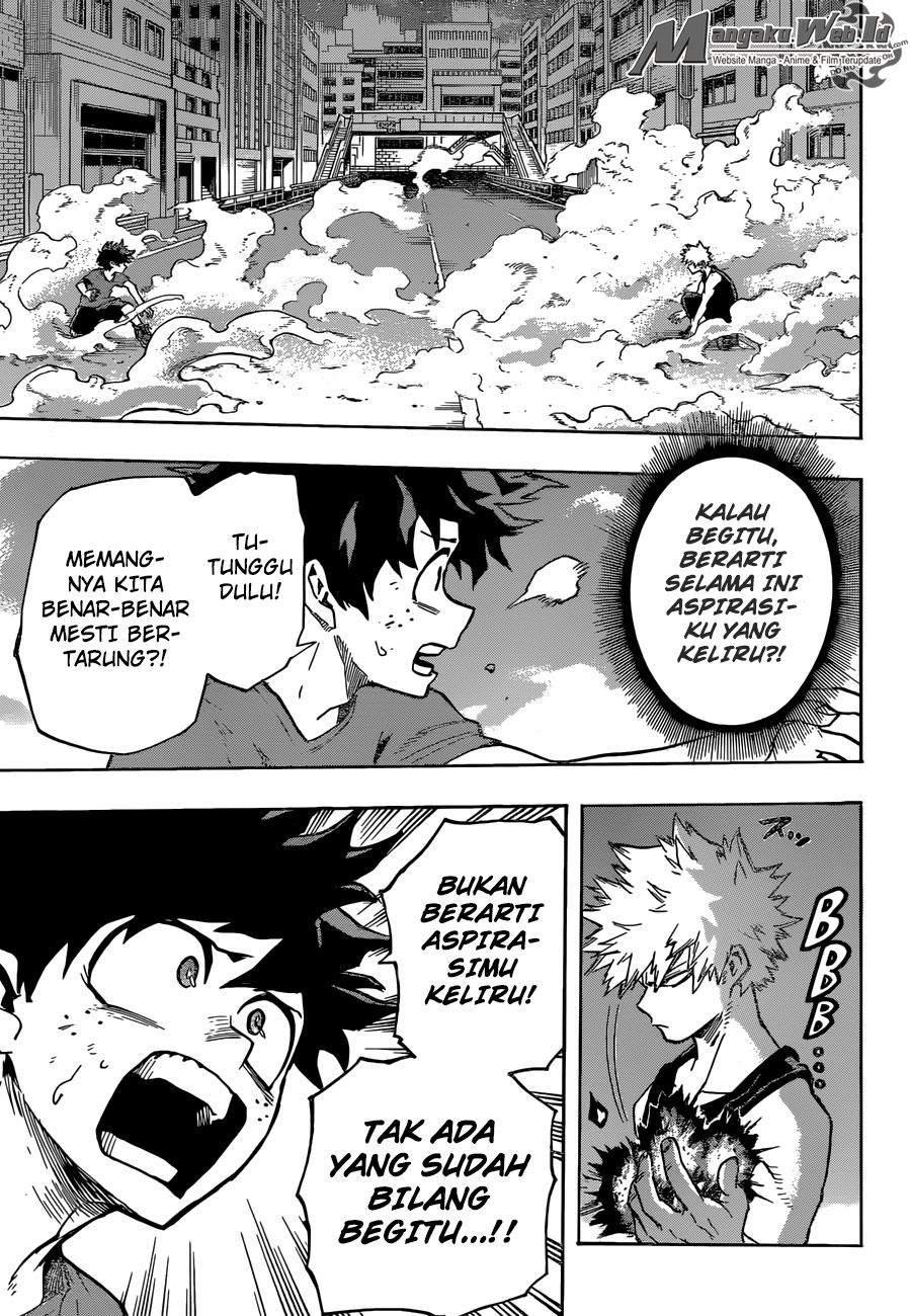 Boku no Hero Academia Chapter 118-3