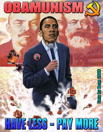 Obama closet communist fraud