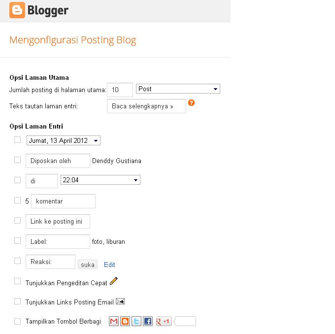 Menghilangkan Objek Pada Blogspot