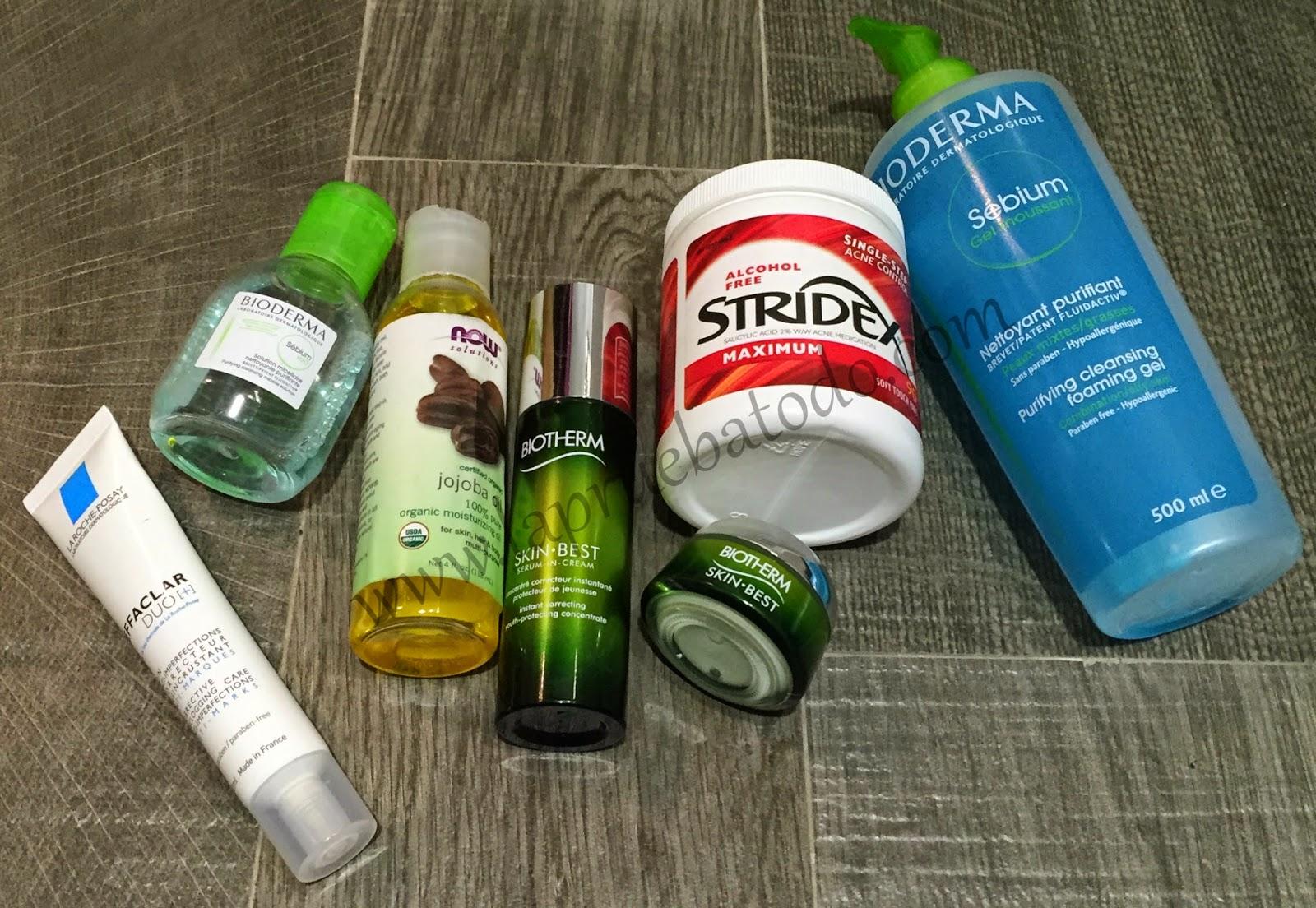 7 productos infalibles para el cuidado facial