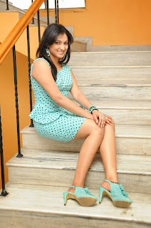 Haripriya in sky blue short skirt and lovely top at Galata Audio Launch