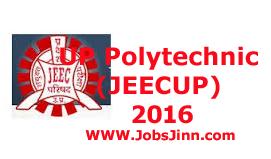 UP Polytechnic (JEECUP) 2016
