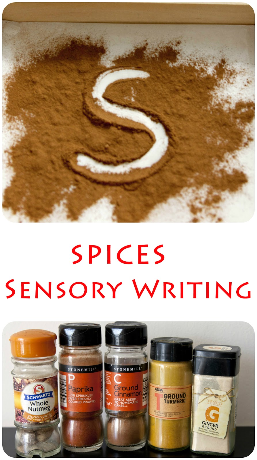 sensory writing activity