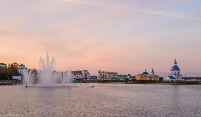 Путешествия: О жизни: Альбом пользователя GalaDietrih: Фонтаны на Чебоксарском заливе