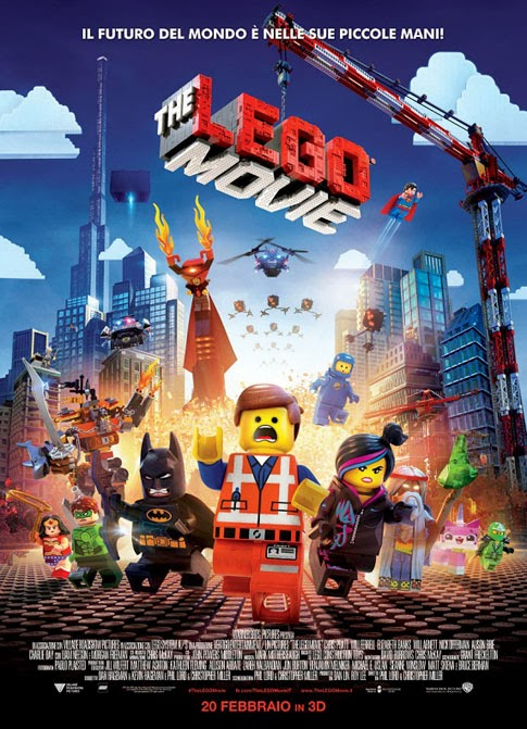 The Lego Movie recensione film