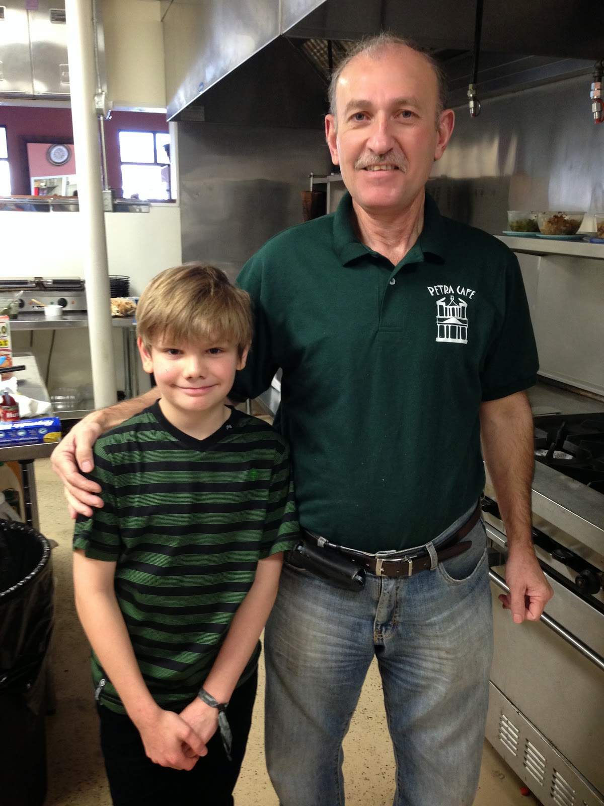 Logan Guleff at Petra Cafe Master Chef Jr 2 USA