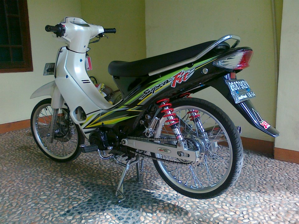 Modifikasi Motor Honda Supra Fit