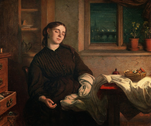 dreaming, Cope, victorian painter