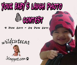 wildcutecat 1st giveaway: your baby's laugh photo contest