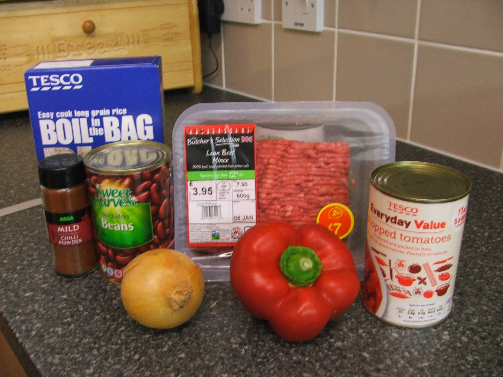 What's Cooking At The Webster's- Winter Warming Chilli
