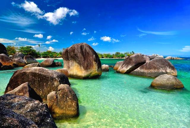 Wisata Pantai Bangka Belitung