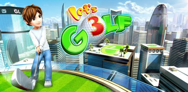 Download Let's Golf! 3 v1.1.0 Android Apk + Data Free [Unlimited Gold, Money e Skills + Level Max]