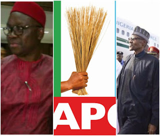 'You can now commit suicide' – APC tells Fayose following Buhari's return