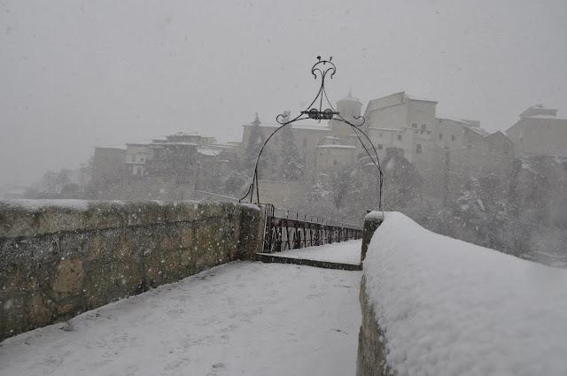 Comienzo del Puente San Pablo (Cuenca)