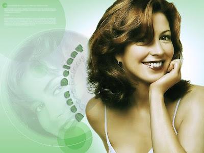 Beautiful Actress Dana Delany Wallpaper