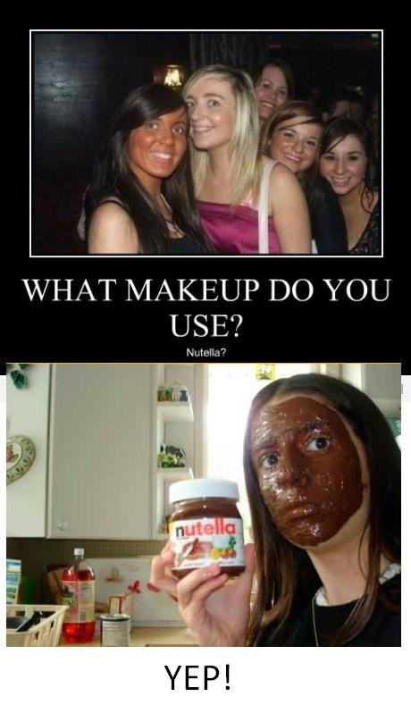 What Makeup Do You Use - Nutella?