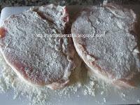 Escalop de porc cu ciuperci preparare reteta