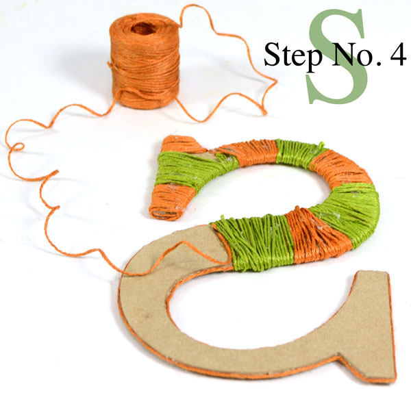 Decorative Wood Letters, Tutorial, Jute Rope, Wrapped Letters, DIY Craft, Burlap, Decor Letters