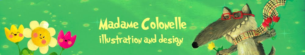 Madame Colonelle Design - children's illustrations