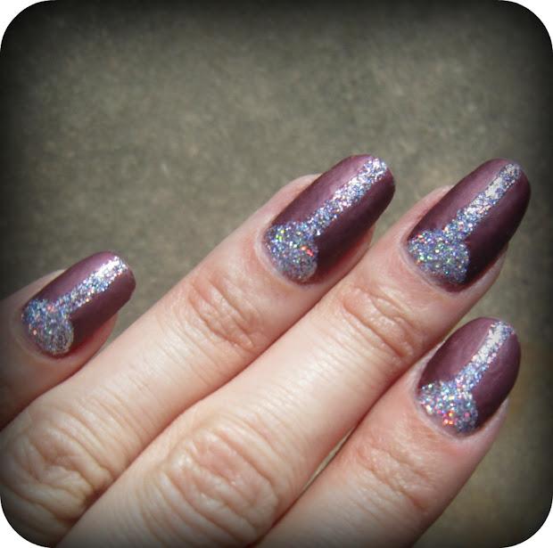 concrete and nail polish color
