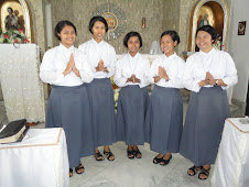 New Postulants of the Veronican Sisters of the Holy Face