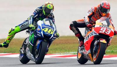 Honda Ungkap Satu Bukti Baru, Rossi Memang Tendang Marquez